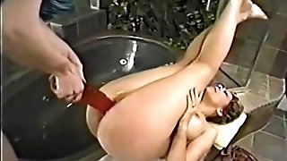 Tammi Ann loves insert faux-cocks on Caressa