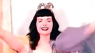 Sensitive Belly Dance Of A Hot Pornographic Star (1950s Antique)