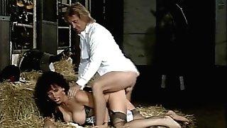 Teresa Orlowski - Ass fucking gefickt im Reitstall by snahbrandy