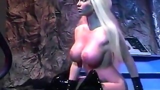 A Youthful Big-boobed Blonde Rails A Dick Like A Rodeo With Taylor Wane