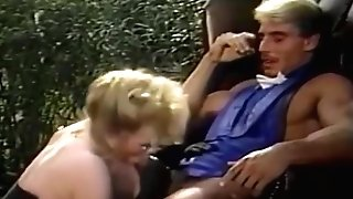 Big Tit Blonde Torn Up In Old-school Porno