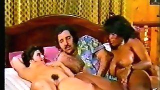 Dark-hued Ayes Ron Jeremy 3some